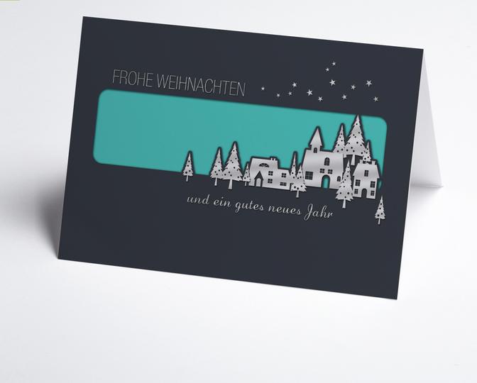 Traditionelle Weihnachtskarten