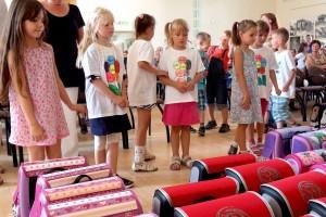 Schulranzenübergabe Torgelow 2014