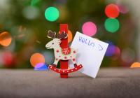 weihnachtskarten-präsentieren