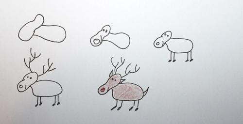 visualisierungen für die geschäftliche weihnachtspost