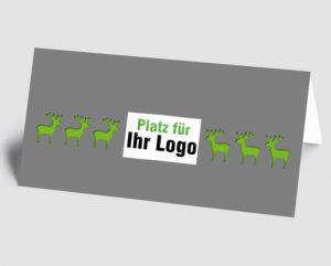 Firmenlogo oder Bild auf der Vorderseite