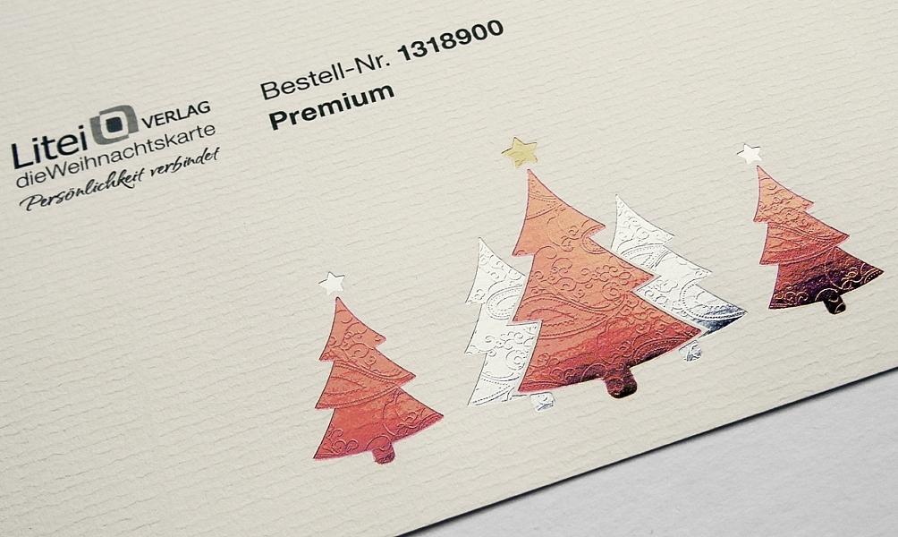 Weihnachtskarten Verlag.Weihnachtsbriefe Wie Aus Briefpapier Durch Veredelung Etwas