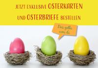 Osterkarten und Osterbriefe für Geschäftskunden