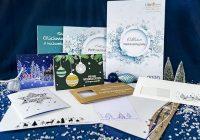 Infopaket mit Katalog und Weihnachtskartenmuster